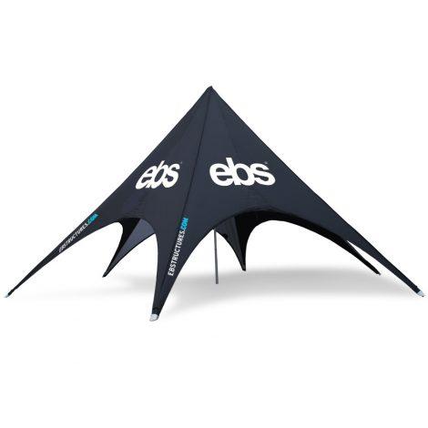 Bedrukte stertenten en stretchtenten EBs Event & brand structures